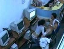 Inabot ng Kalibugan sa Internet Cafe, Kuha sa CCTV!