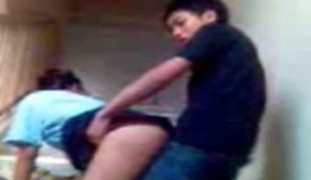 HighSchool Kids Sa Hagdanan Inabot ng Kalibugan, NagSEX!
