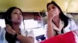 BOSO: Dalawang FEU Cute College Students sa Jeep