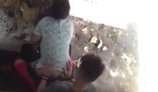 Pinay Waiting Shed Scandal – Baby Ang Sakit.. Shit Ayaw Ko Na..