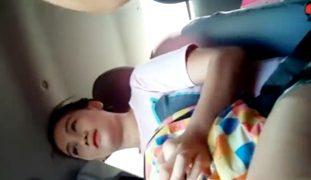 Cute Pinay Iyot Muna sa Kotse Bago Hinatid sa Bahay [FULL Video]