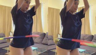 Mycah Sasaki Hula Hoop Video – Nasilip ang Puke! SARAP Puta!