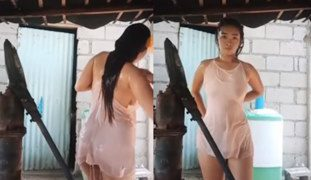 Pinay Student Take Shower While Streaming LIVE on BIGO (Sixsi Ako)