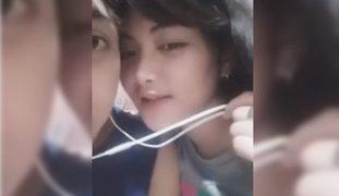 Viral Boy Kupal Sinuso Ang Syota Habang Naka LIVE sa BIGO