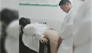 Fuckboy si Doc! Kantot kay Nurse Pampawala ng Stress. Hihi