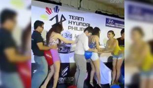 Team Hyundai Lang Malakas! Tinira Mga SEXY Car Agent
